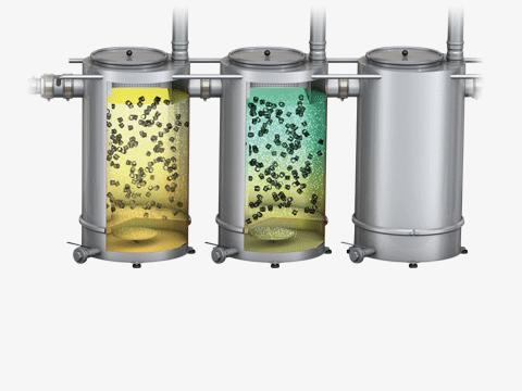 Weitergehende Abwasserhandlung durch Verfahrenstechnik